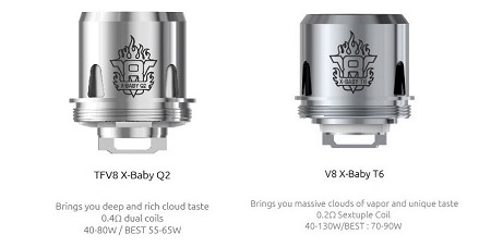 Smok TFV8 X-Baby Replacement Coils 3 pack